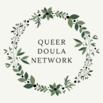 Queer Doula Network badge